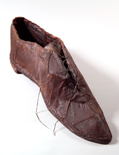 big brown shoe